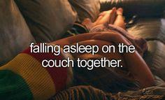Romantic moments.