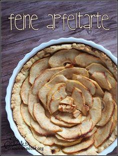 Rezept: Feine Apfeltarte | fraeulein-nebel.org