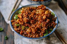 Supreme Soy Sauce Fried Rice - The Woks of Life Rice Recipes, Asian Recipes, Cooking Recipes, Ethnic Recipes, Wok Recipes, Asian Foods, Chinese Recipes, Seafood Recipes, Chinese Vegetables