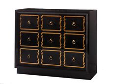 Espana Bunching Chest - Dorothy Draper Collection by Kindel Furniture Company
