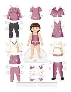 Toddler Fashion Friday - ELLIE by Julie Matthews from Paper Doll School