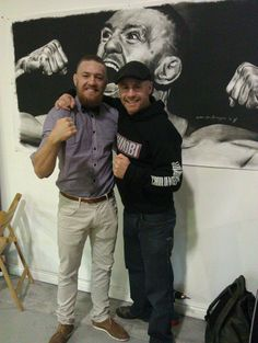 Conor 'the notorious' McGregor & me (shinobivblog)