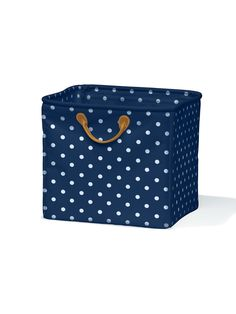 Micro Polka Dot Storage Bin by Lazzari