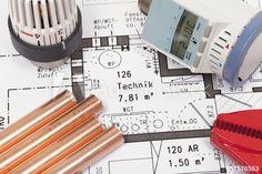 Planung der Heizungsanlage eines Hauses