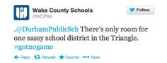 Oh and so this just happened:   Community Post: 16 Sassy Tweets From The Nation's 16th Largest School District