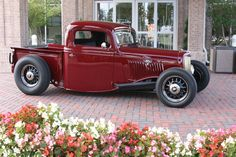 """1935 Ford Pickup """"Custom""""  by Hot Rods By Dean in Phoenix AZ . Click to view more photos and mod info."""