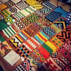 colorful indigenous Brazilian bracelets