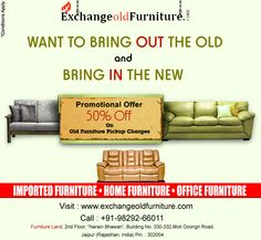 Online Furniture Exchange Stores In Jaipur