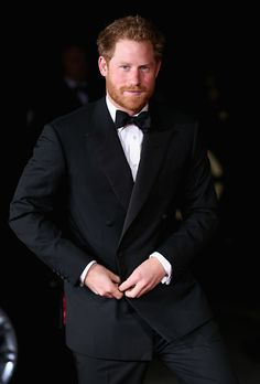 Prince Harry arrives at the Royal Albert Hall for the Royal Variety Performance on 13th November 2015 in London, UK