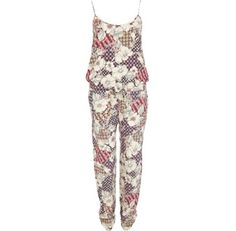 I'm shopping Green floral print jumpsuit in the River Island iPhone app.