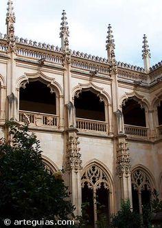 Claustro de San Juan de los Reyes. Toledo