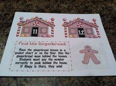 Ketchen's Kindergarten Gingerbread Man Activities, Christmas Activities, Gingerbread Men, Teen Numbers, Math Numbers, Too Cool For School, School Fun, School Stuff, School Ideas
