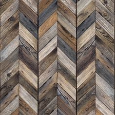 Decor Antique wood chevron wallpaper If you want to get created you can cut, paste, and add extras t Handmade Wood Furniture, Natural Wood Furniture, Wood Furniture Living Room, Reclaimed Wood Furniture, Chevron Wallpaper, Wood Wallpaper, Wood Floor Texture, Book Nooks, How To Antique Wood