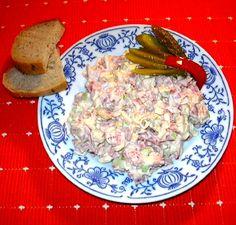 Turistický salát :: Domací kuchařka - vyzkoušené recepty