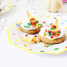 Make These Cornucopia Cookies for a Colorful Thanksgiving Dinner | Brit + Co
