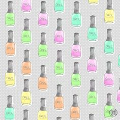 Free nailpolish patterns vol. 1: Essie