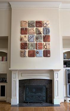 Cho on RISD Portfolios-Chris Gryder ceramic tiles Ceramic Tile Art, Clay Tiles, Ceramic Clay, Ceramic Pottery, Glazed Ceramic, Clay Wall Art, Clay Art, Keramik Design, Sculptures Céramiques