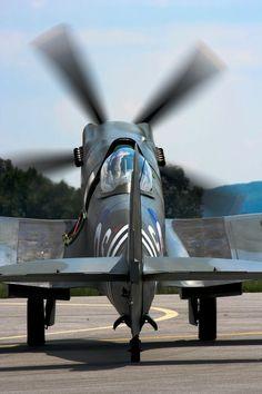 Spitfire engine warmup