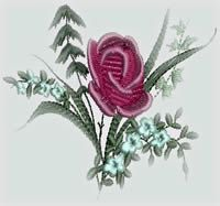 BFC-Creations Machine Embroidery Designs Floral Bling