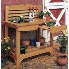 Woodworker's Journal A Gardener's Bench Plan | Rockler Woodworking and Hardware