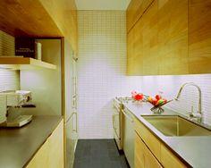 imagine the pantry area door // http://www.houzz.com/photos/808477/East-Village-Studio-contemporary-kitchen-