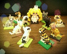 « #nanoblock #cat »