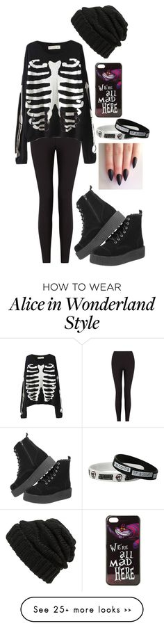 """""""its aLMOST OCTOBER YAY"""" by lolmariaaa on Polyvore featuring Lyssé Leggings, Leith, T.U.K. and Disney"""