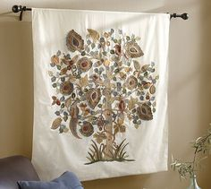 Alani Embroidered Tapestry #potterybarn