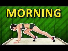 Morning Workout Routine - Melt Fat, Burn Calories, Look Great Start your day right with a quick morning weight loss routine! Designed to help you burn calories throughout the day! Morning Workout Routine, Workout Routines For Beginners, Daily Exercise Routines, Workout Videos, Morning Workouts, Video Sport, Good Mornings Exercise, 7 Minute Workout, Weight Loss Routine
