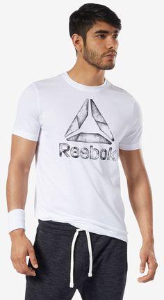 T-shirt One Series Training Black Ice - Taille : S Reebok, Ralph Lauren, T Shirt Original, Sport, Nike, Under Armour, Vans, Adidas, Mens Tops
