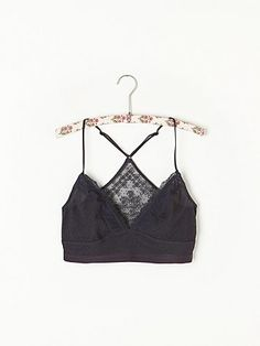 Free People Eyelet Mesh Bra