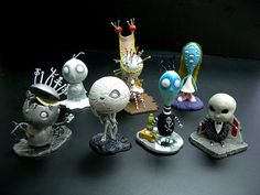 Tim Burton's Tragic Toys.... I can't find mine since I moved.  So sad.  :(
