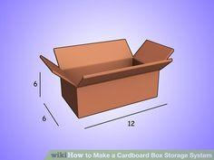Image titled Make a Cardboard Box Storage System Step 1Bullet2
