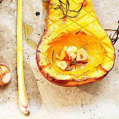 Butternut-Kürbis – gebackenes Herbstgemüse | schmecktwohl.