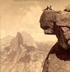 Glacier Point, Yosemite Valley California.