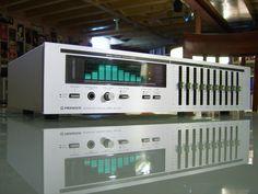 Pioneer SG-50 graphic equalizer analyzer