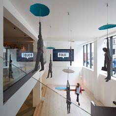 sculpture installation - michal trpák - fold 7 office - london - 2014 - photo hufton + crow