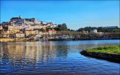 Coimbra e o Rio Mondego...