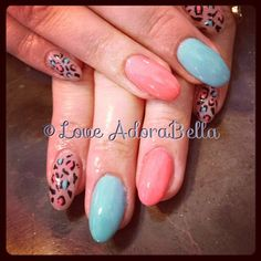 Some fun cheetah with lots if color for @Elizabeth Hayes #animalprint #cheetahprint #nails!!! #gelpolish #pretty #simple #nail #fashion #style #TagsForLikes #cute #beauty #beautiful #instagood #pretty #girl #girls #stylish #styles #love #shiny #nailswag #loveadorabella @Monica Vaughn