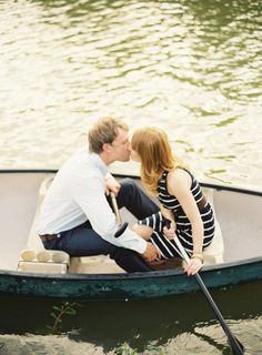 #water #canoe Photography by brycecoveyphotography.com  Read more - http://www.stylemepretty.com/2013/04/26/wiup-texas-engagement-winners/