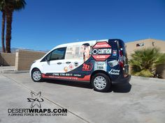 Security Comtron Alarm went with a high quality vinyl wrap designed and installed by DesertWraps.com in Palm Desert, CA. 760-935-3600 #VanWrap #Branding #Advertising #VehicleBranding