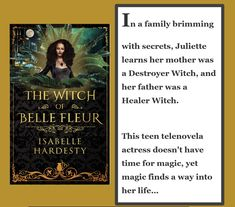 Can Juliette balance her Healer and Destroyer sides while she tries to defeat the evil that hunts her and those she loves?  For fans of #witches #magic #bookboyfriend #romance #yafantasy Fantasy Books, Sci Fi Fantasy, New Books, Books To Read, Sci Fi Books, Book Boyfriends, Hunts, Healer, Reading Lists