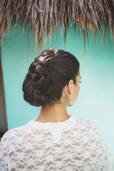 Hairstyles Wedding Inspiration - Style Me Pretty Pretty Hairstyles, Wedding Hairstyles, Tulum Beach, Special Occasion Hairstyles, Beach Wedding Photography, Amazing Weddings, Unique Weddings, Hair Shows, Hair Pictures