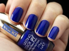 #NavyChic  #Spring2014 #makeup collection Limited edition  #Smalto Effetto Vetro LASTING COLOR GEL 062 Navy Chic Shocking Blue