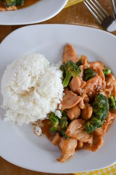 Chinese chicken and broccoli recipe that tastes just like your favorite takeout.