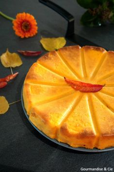 Gâteau à la courge et citron