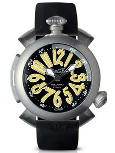 DIMENSION: 48 MM THICKNESS: 20 MM CASE: TITANIUM CASE, HELIUM VALVE, SCREW DOWN CROWN AND BACKCASE MOVEMENT: AUTOMATICWATERPROOF: 300 MT, 30 ATMDIAL: INTERNAL ROTATING BAZEL, BLACK DIAL, YELLOW NUMBERS IN APPLIQUE, STEEL SPHERESGLASS: DOMED HIGHLY RESISTANT, DOUBLE RANGE, SAPPHIRE TREATMENT STRAP: RUBBER
