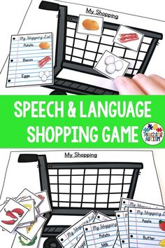 Your students will love working on their instruction and life skills with this engaging and hands-on shopping activity. Students need to follow the shopping lists and add to the items to their cart. Perfect or your special education or autism classroom and speech therapy lessons. #AutismClassroom #SpecialEducation
