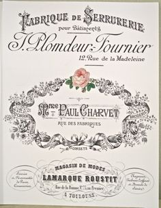 Vintage printables - water slide decals French This might help you Margs they are transfers, very easy and lovely. Vintage Labels, Vintage Ephemera, Vintage Cards, Vintage Paper, Vintage Clocks, French Images, Images Vintage, French Vintage, Decoupage Vintage