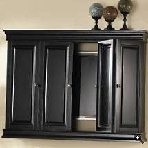 1000 images about hiding flat screen tvs on pinterest for Tv cabinets hidden flat screens
